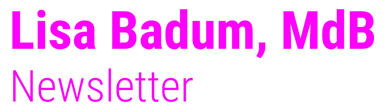 Lisa Badum MdB Newsletter